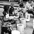 Rhythm On Bourbon Street New Orleans by John Rizzuto