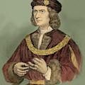Richard IIi Of England Portrait by English School
