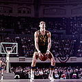 Rick Barry Action Portrait by Walter Iooss Jr.