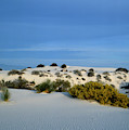 Rippled Sand Dunes In White Sands National Monument, New Mexico - Newm500 00114 by Kevin Russell