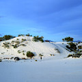 Rippled Sand Dunes In White Sands National Monument, New Mexico - Newm500 00119 by Kevin Russell