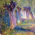 River Epte Giverny 1910  by Guy Rose