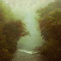 River In Fog by Dirk Wuestenhagen