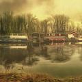 River Panorama - Hampton Court by Leigh Kemp