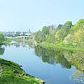 river tweed at Coldstream by Victor Lord Denovan