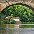 River Wear In Durham City Uk by Martyn Arnold