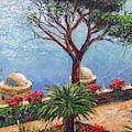 Riviera Umbrella Tree by David Lloyd Glover