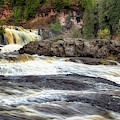 Roaring Gooseberry Falls by Susan Rissi Tregoning