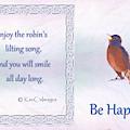 Robin Sings by Kae Cheatham