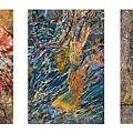 Rock Collage Triptych by Alexander Kunz