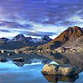Rock Reflection Landscape by Kai Mueller