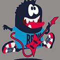 Rock, Rocker  Monster by Braingraph