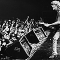 Rock Singer Tom Petty In Concert by George Rose