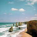 Rocks Jut Out At Sea, Australia by Tobias Titz