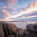 Rocky Coast At Daybreak . by Jeff Sinon