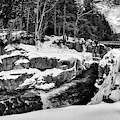 Rocky Gorge Foot Bridge N H by Michael Hubley
