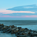 Rocky Shores Sunrise by Dale Powell