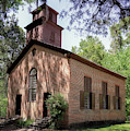 Rocky Springs Methodist Church by Susan Rissi Tregoning