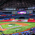 Rogers Centre Toronto Blue Jays Baseball Ballpark Stadium by Christopher Arndt