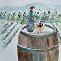 Roll Out The Barrel - Christmas Cheer by Jan Dappen