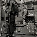 Roll The Film - Bw by Kristia Adams