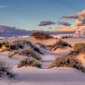 Rolling White Sands  by Harriet Feagin