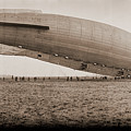 Roma Dirigible At Bolling Field Air by Fred Schutz Collection