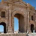 Roman Arched Entry by Mae Wertz