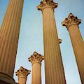 Roman Temple Cordoba Spain by Joan Carroll
