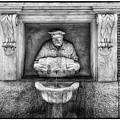 Roman Water Fountain by Wolfgang Stocker