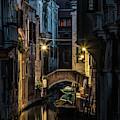 Romantic Evenin In Venice by Jaroslaw Blaminsky