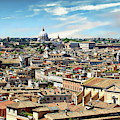 Rome Panoramic by Anthony Dezenzio