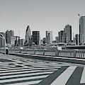 Ronald Kirk Bridge Black And White by Dan Sproul