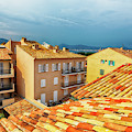 roofs of San Tropez by Ariadna De Raadt