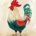 Rooster 6 by Darice Machel McGuire