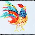 Rooster by Lavender Liu