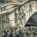 Rosita's Bridge - San Antonio Texas Riverwalk - Sepia by Gregory Ballos