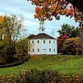 Round Church Of Richmond Vermont by Jeff Folger