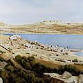 rovine a Tiberiade by Guido Borelli
