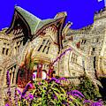Royal Roads Hatley Castle Twisted by Sue Harper