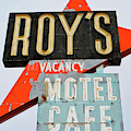 Roy's Motel And Cafe Portrait by Kyle Hanson