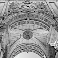 Rua Augusta Arch - Lisbon by Georgia Fowler