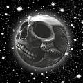 Rubino Moon Planet Skull 2 by Tony Rubino