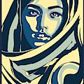 Rubino Pop Woman Hood by Tony Rubino