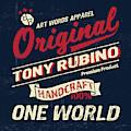 Rubino Vintage Original Sign by Tony Rubino