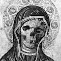 Rubino Vintage Retro Skull Metal by Tony Rubino