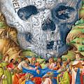 Rubino Vintage Skull Garden Rise by Tony Rubino