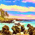 Rugged Maui Coast by Dominic Piperata