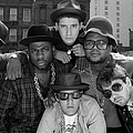 Run-dmc & Beastie Boys by New York Daily News Archive