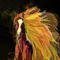 Running Horse by OLena Art - Lena Owens